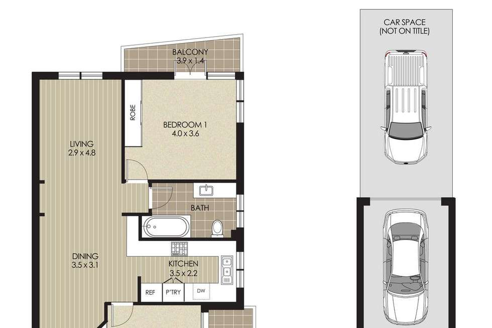 Floorplan of Homely apartment listing, 10/26 Bennett Street, Cremorne NSW 2090