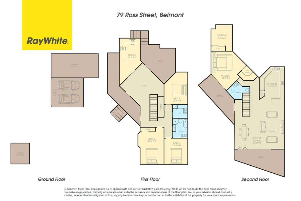Floorplan of Homely house listing, 79 Ross Street, Belmont NSW 2280
