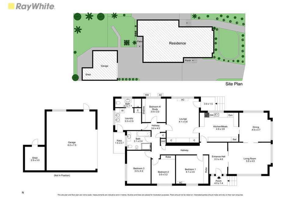 Floorplan of Homely house listing, 14 Terrigal Avenue, Oakleigh South VIC 3167