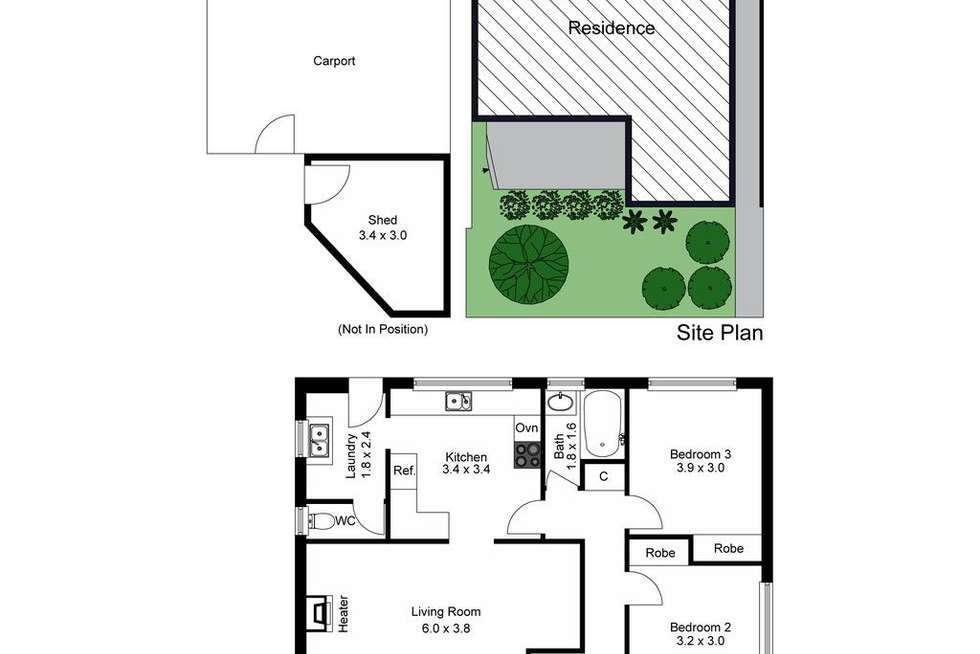 Floorplan of Homely unit listing, 1/18 Elora Road, Oakleigh South VIC 3167