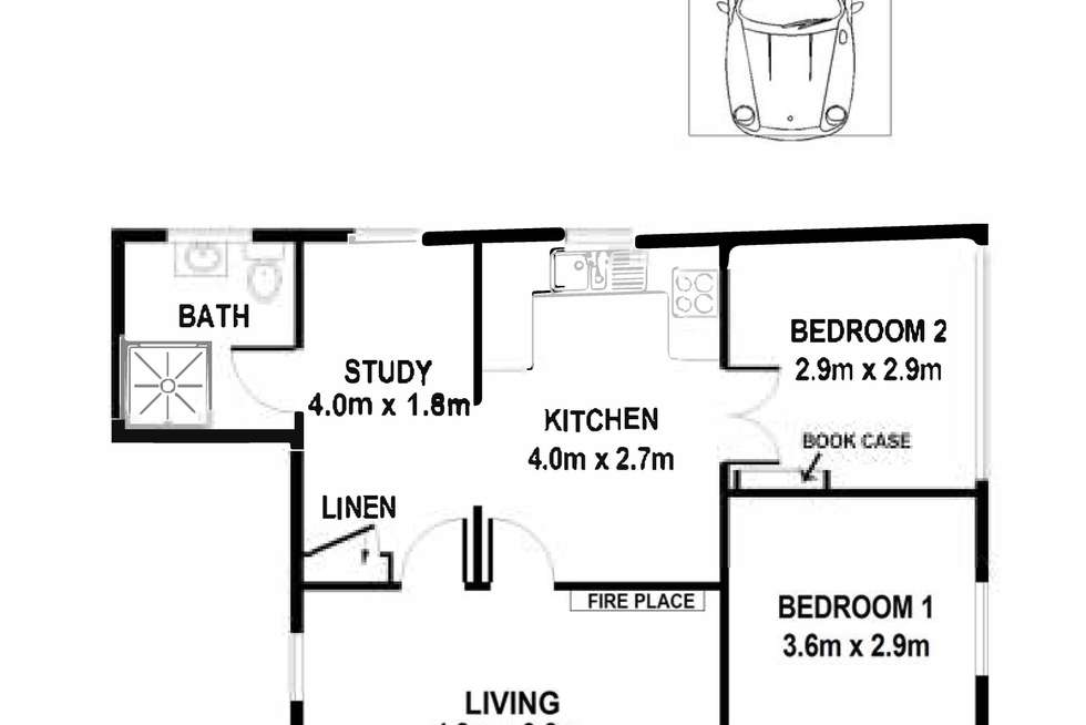 Floorplan of Homely apartment listing, 10/9 Davidson Parade, Cremorne NSW 2090