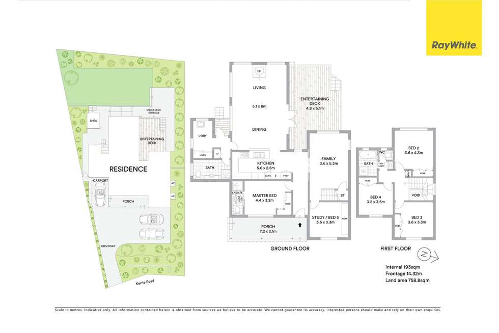 Floorplan of Homely house listing, 27 Kerrie Road, Oatlands NSW 2117