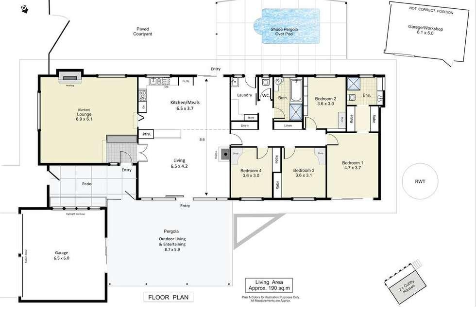 Floorplan of Homely house listing, 54 Derrick Street, Berri SA 5343