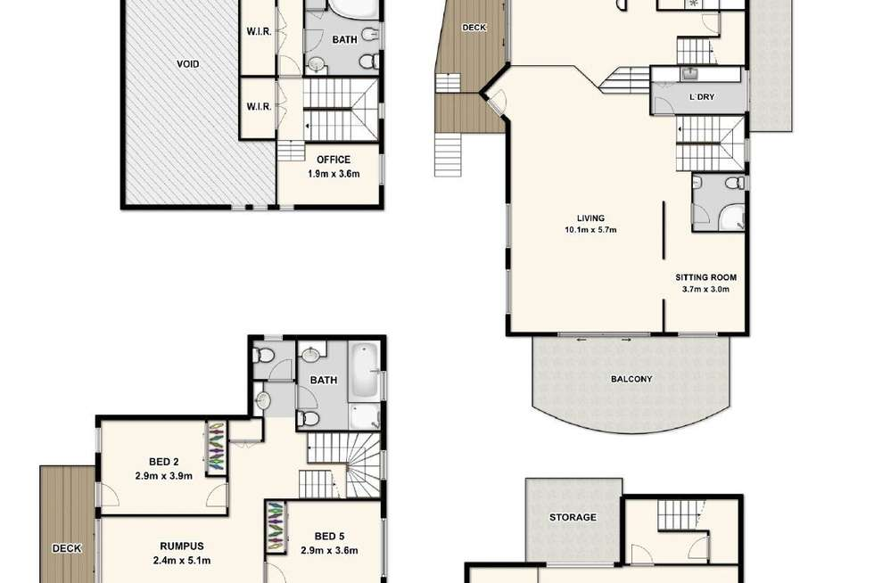 Floorplan of Homely house listing, 39 Lansdowne Street, Newmarket QLD 4051