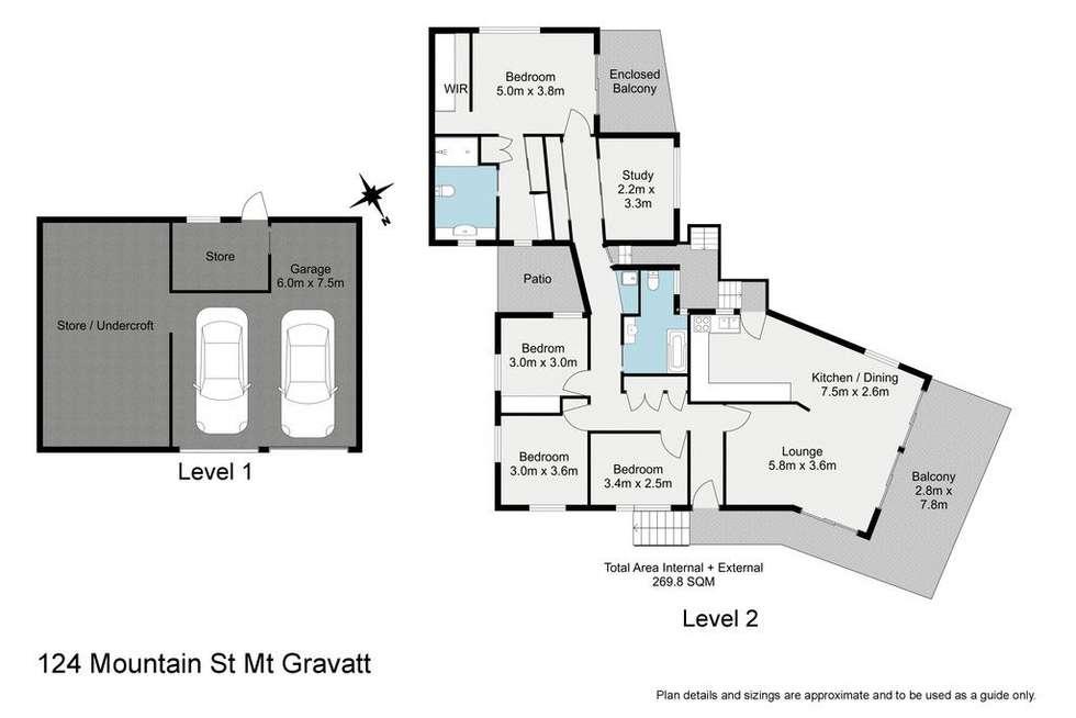 Floorplan of Homely house listing, 124 Mountain Street, Mount Gravatt QLD 4122