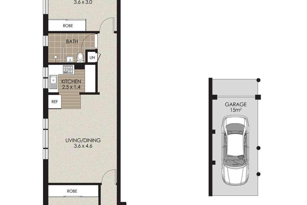 Floorplan of Homely apartment listing, 5/5 Hampden Street, Mosman NSW 2088