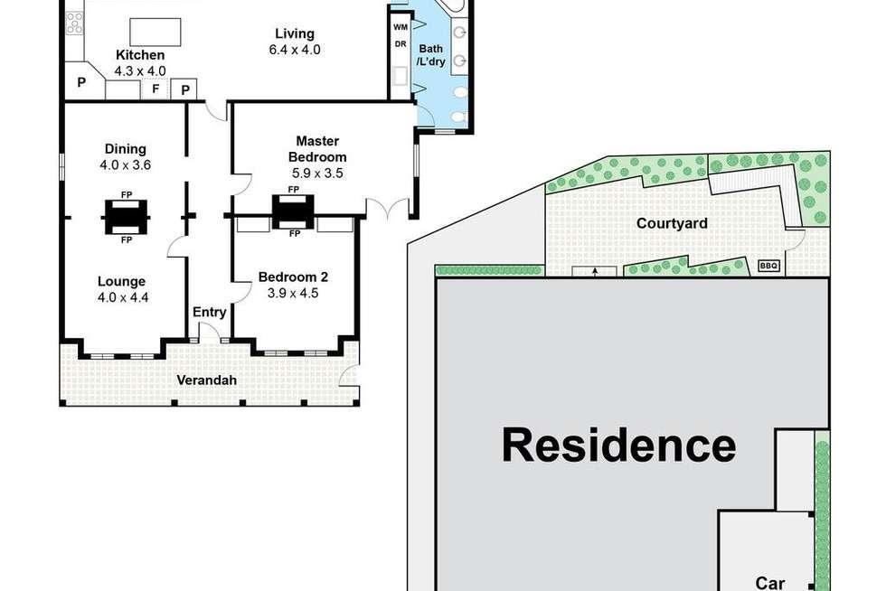 Floorplan of Homely house listing, 235 Hensman Road, Shenton Park WA 6008