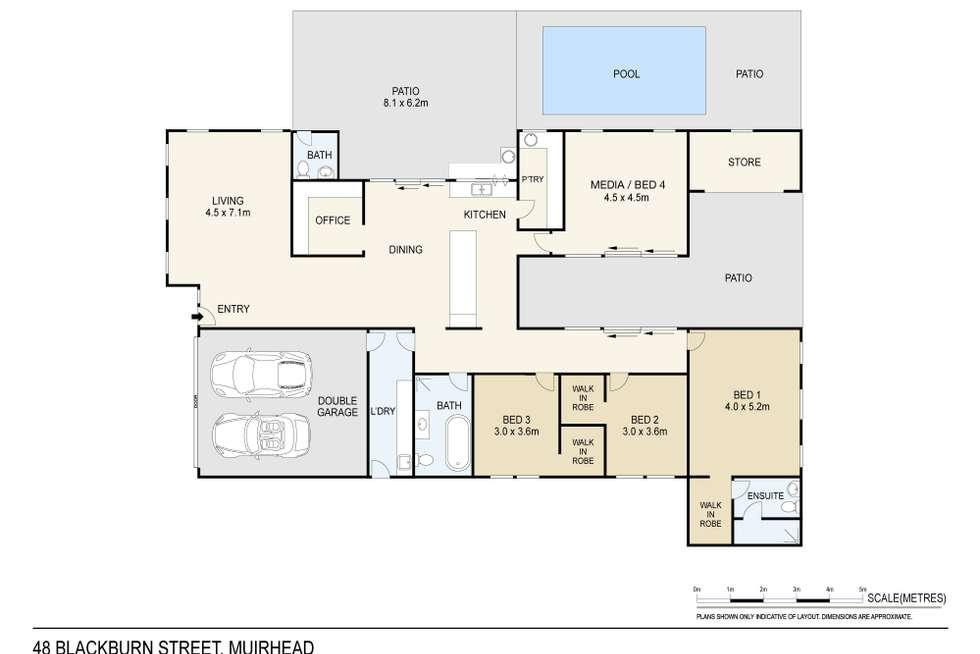 Floorplan of Homely house listing, 48 Blackburn Street, Muirhead NT 810
