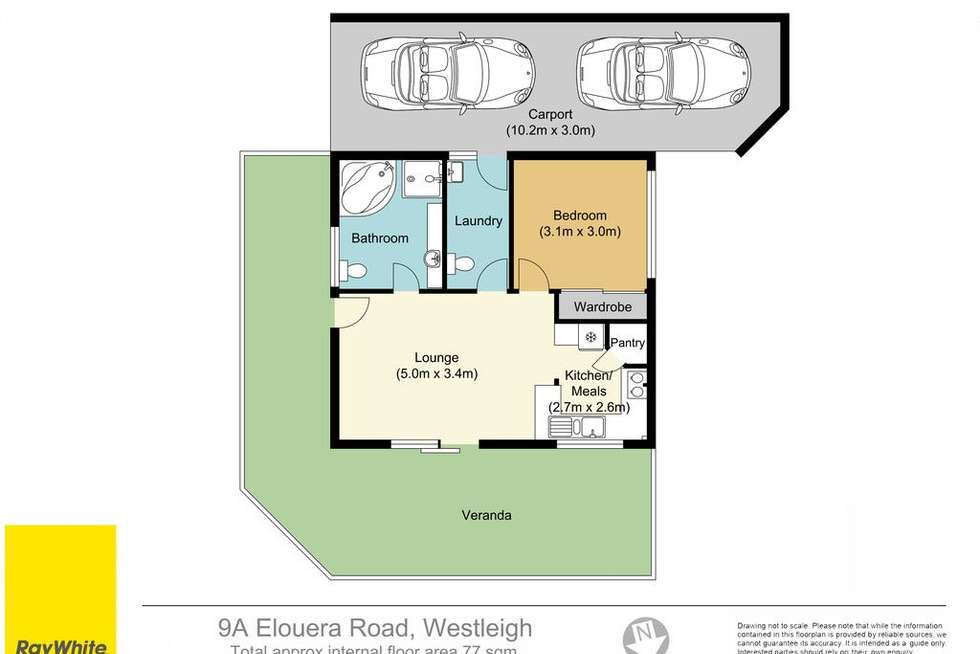 Floorplan of Homely house listing, 9a Elouera Road, Westleigh NSW 2120