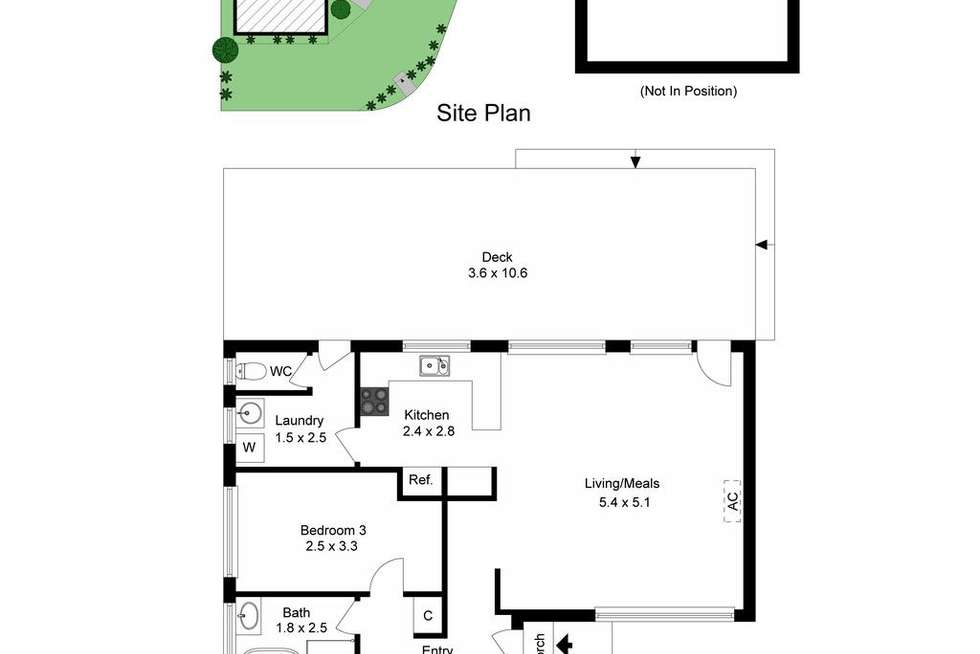 Floorplan of Homely house listing, 23 Olstead Drive, Baxter VIC 3911