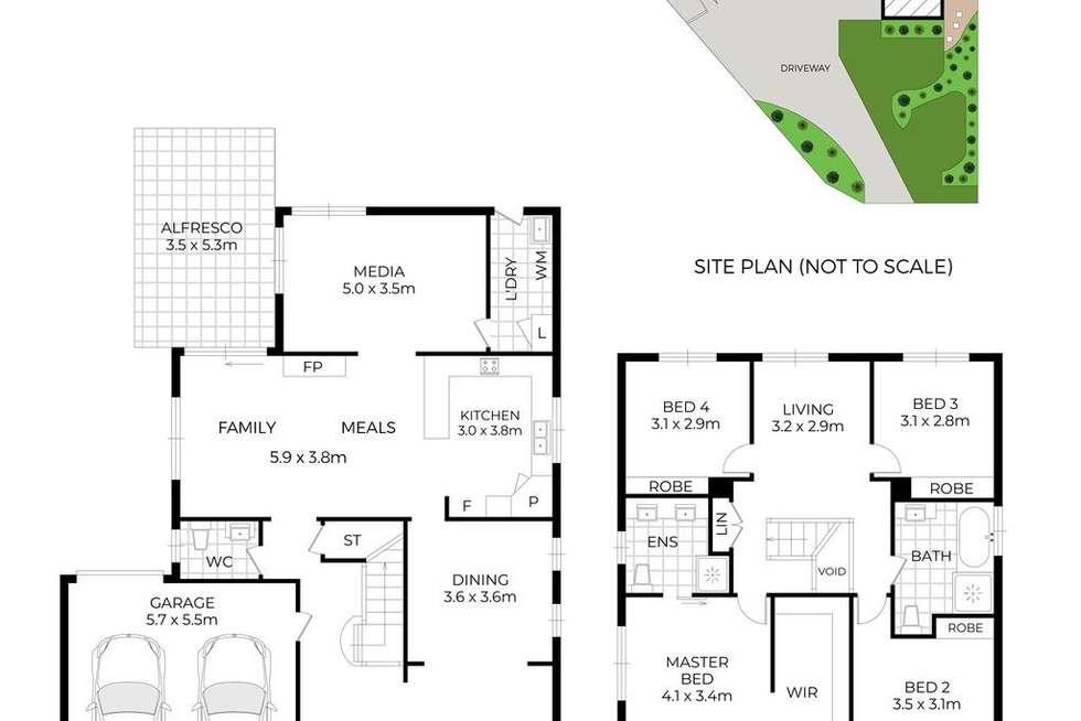 Floorplan of Homely house listing, 18 Islington Road, Stanhope Gardens NSW 2768