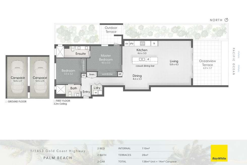 Floorplan of Homely apartment listing, 1-3 1453 Gold Coast Highway, Palm Beach QLD 4221