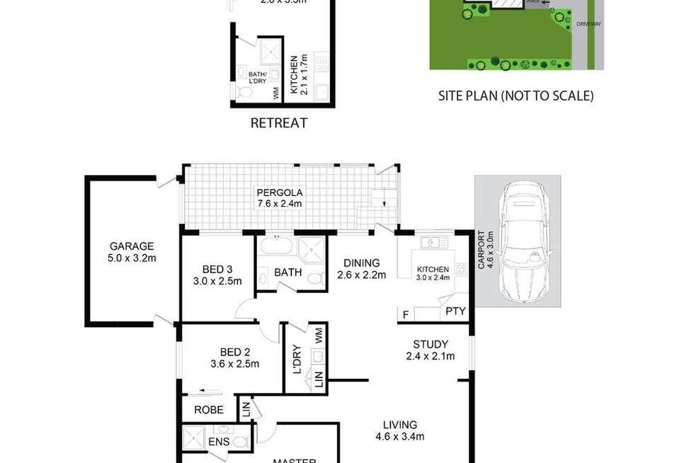 Floorplan of Homely house listing, 130 Davis Road, Marayong NSW 2148