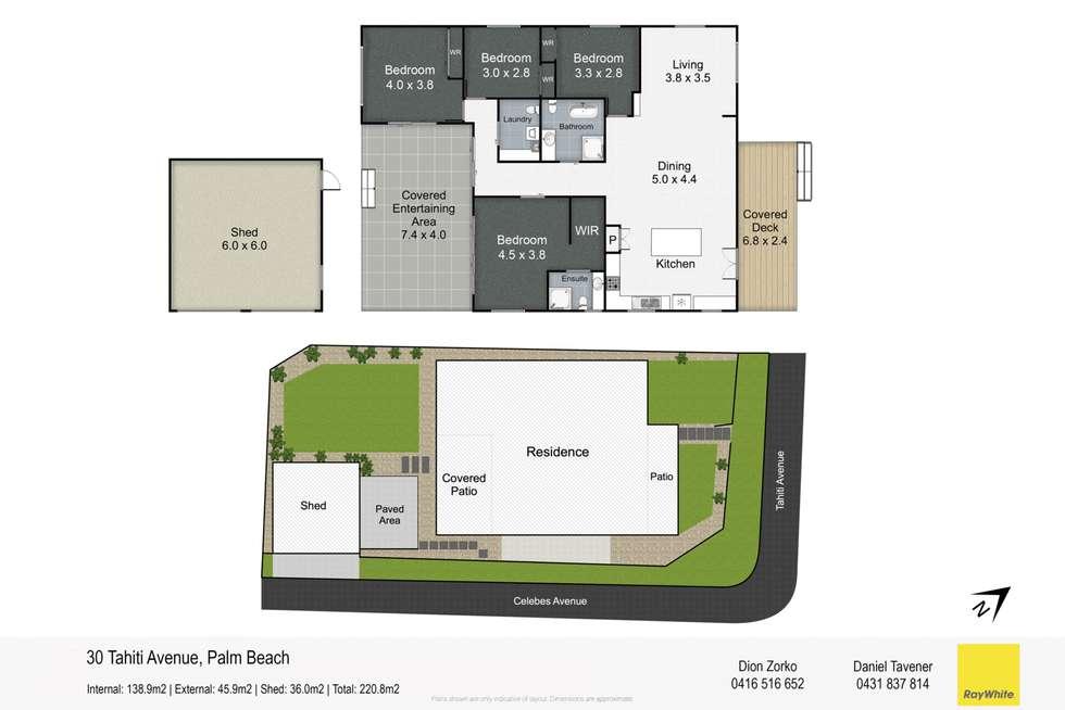 Floorplan of Homely house listing, 30 Tahiti Avenue, Palm Beach QLD 4221