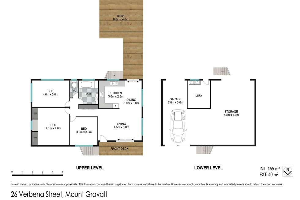 Floorplan of Homely house listing, 26 Verbena Street, Mount Gravatt QLD 4122