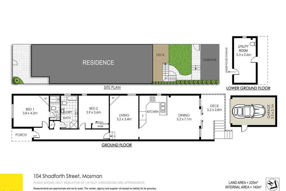 Floorplan of Homely house listing, 104 Shadforth Street, Mosman NSW 2088