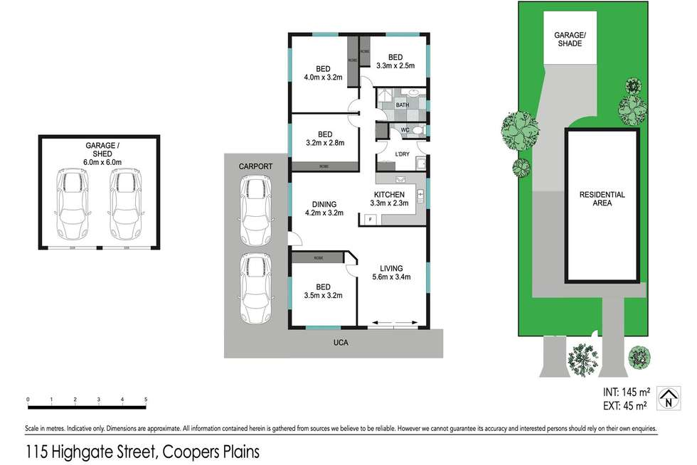 Floorplan of Homely house listing, 115 Highgate Street, Coopers Plains QLD 4108