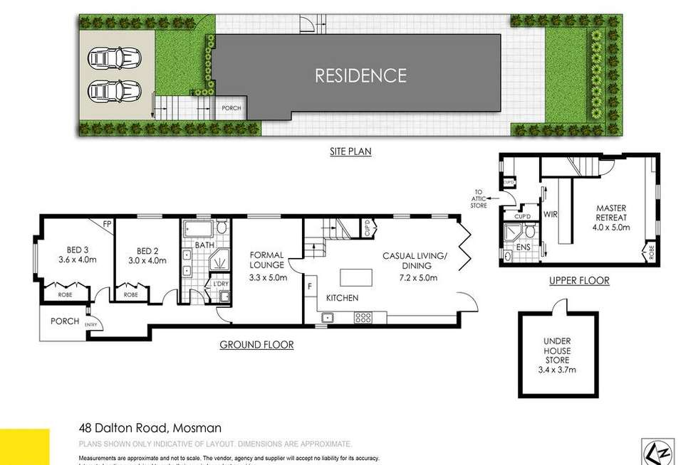 Floorplan of Homely house listing, 48 Dalton Road, Mosman NSW 2088