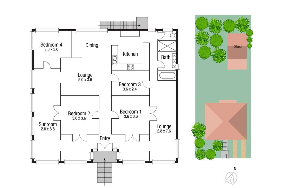 Floorplan of Homely house listing, 2 Fifth Avenue, South Townsville QLD 4810