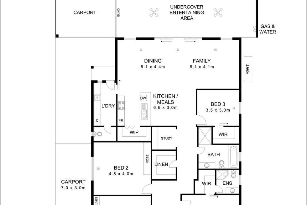 Floorplan of Homely house listing, 18 Glengarry Street, Woodville South SA 5011