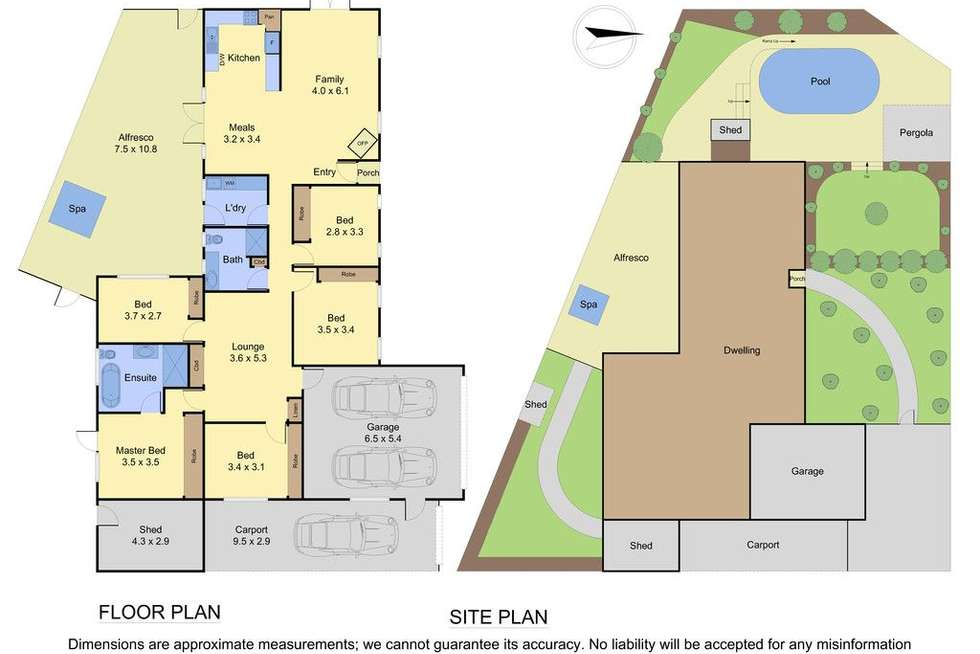 Floorplan of Homely house listing, 43 Sasses Avenue, Bayswater VIC 3153