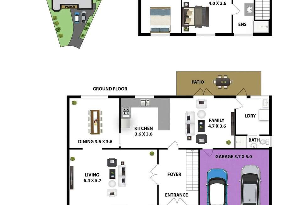 Floorplan of Homely house listing, 6 Tongarra Place, Westleigh NSW 2120