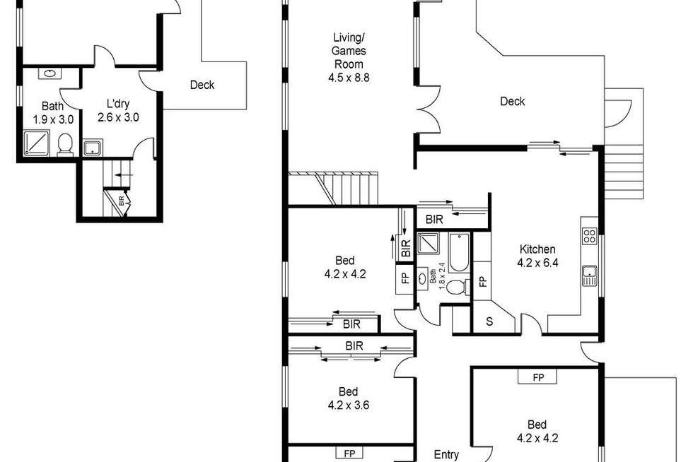 Floorplan of Homely house listing, 82 High Street, East Launceston TAS 7250