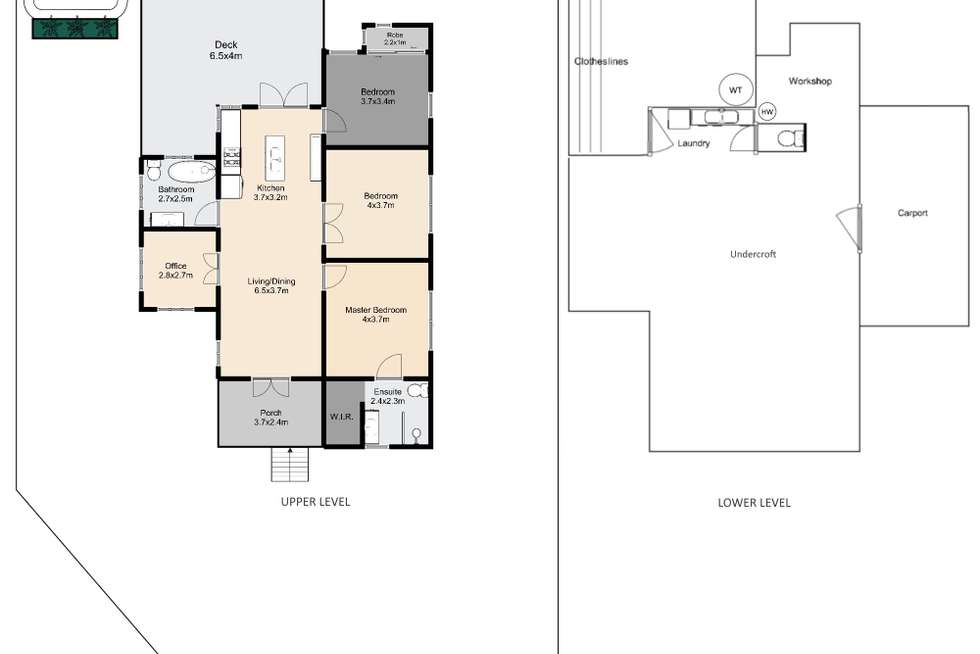 Floorplan of Homely house listing, 22 Murrell Street, Newmarket QLD 4051