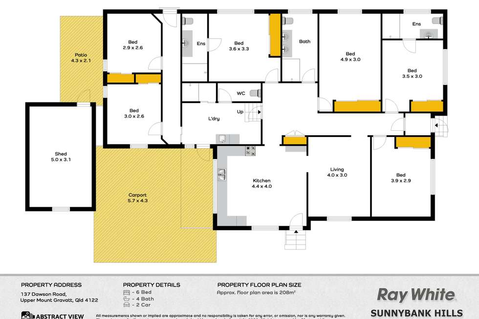 Floorplan of Homely house listing, 137 Dawson Road, Upper Mount Gravatt QLD 4122