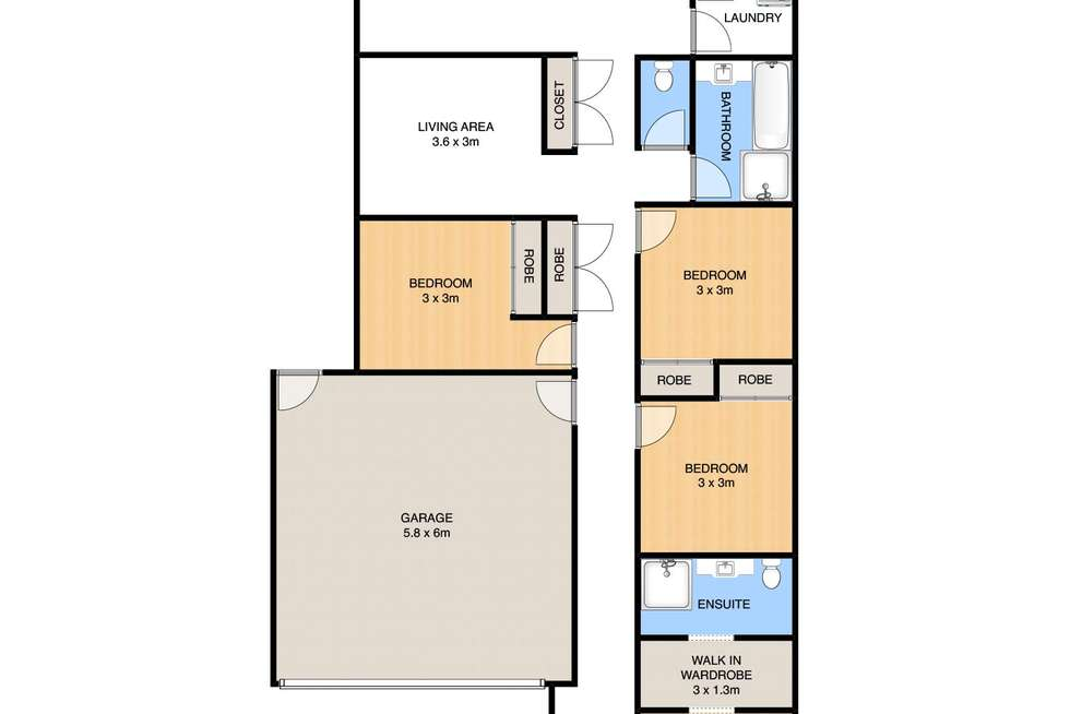 Floorplan of Homely house listing, 63 Palatial Crescent, Griffin QLD 4503