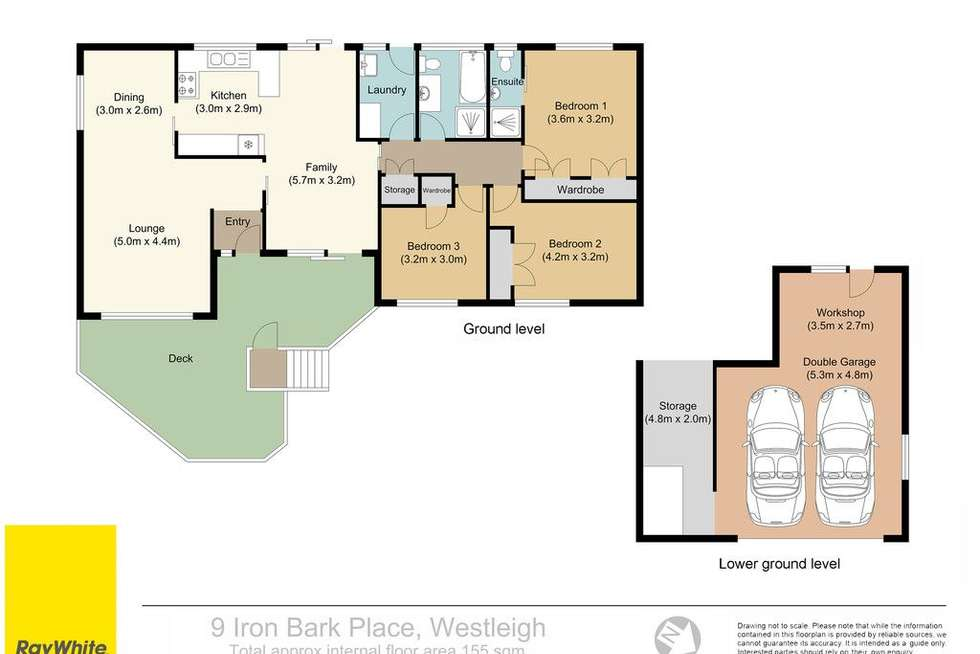 Floorplan of Homely house listing, 9 Iron Bark Close, Westleigh NSW 2120