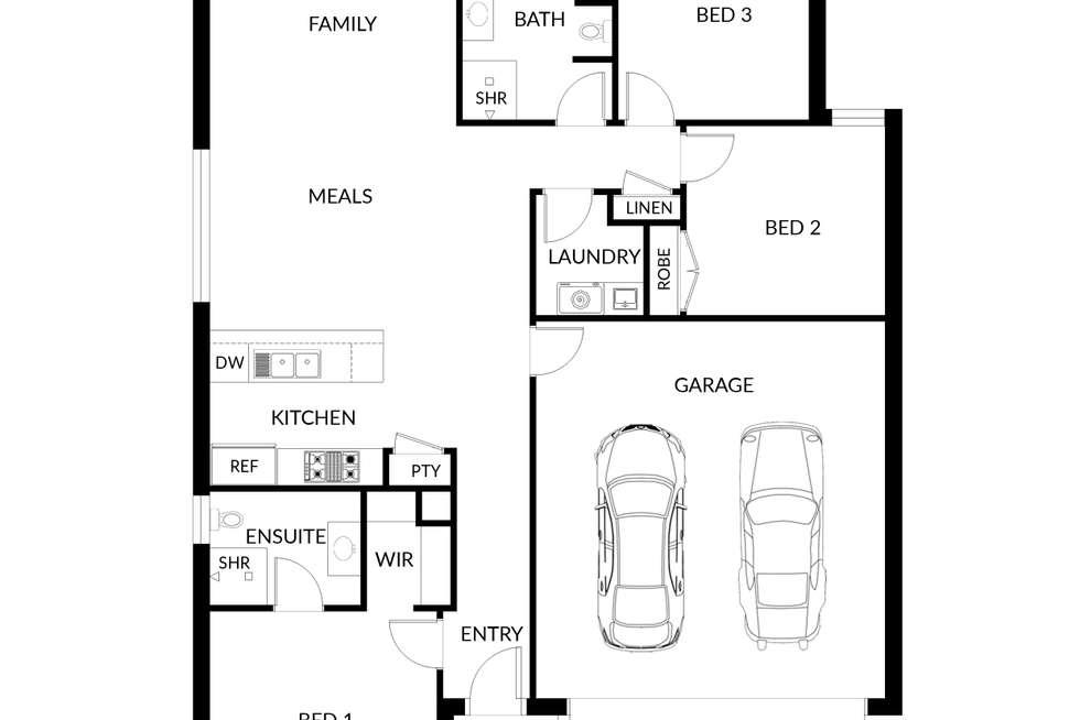 Floorplan of Homely house listing, 2/421 Walnut Avenue, Mildura VIC 3500