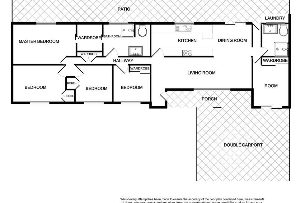 Floorplan of Homely house listing, 2 Lupin Court, Annandale QLD 4814