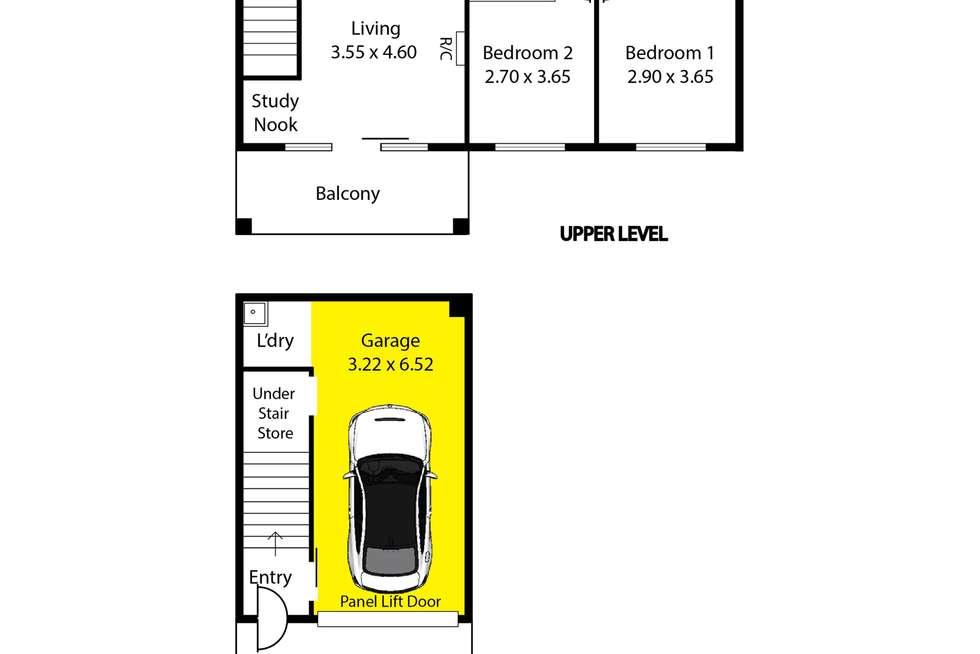 Floorplan of Homely house listing, 29 Centenary Circuit, Andrews Farm SA 5114