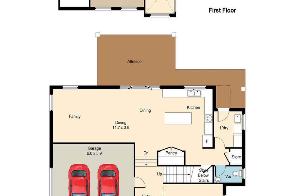 Floorplan of Homely house listing, 10 National Avenue, Shell Cove NSW 2529