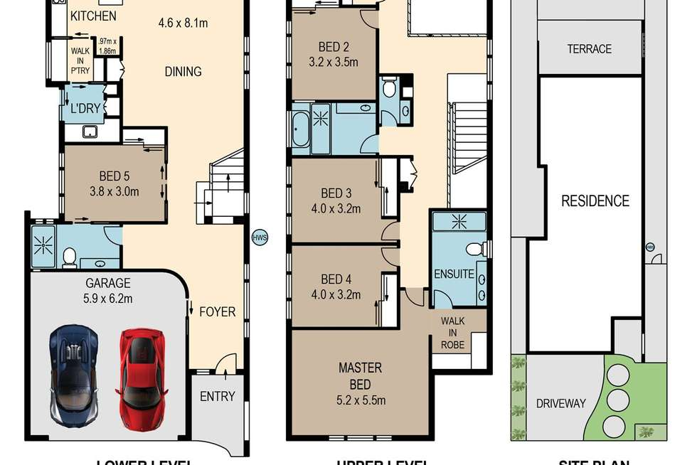 Floorplan of Homely house listing, 4B Vickers Street, Carina Heights QLD 4152