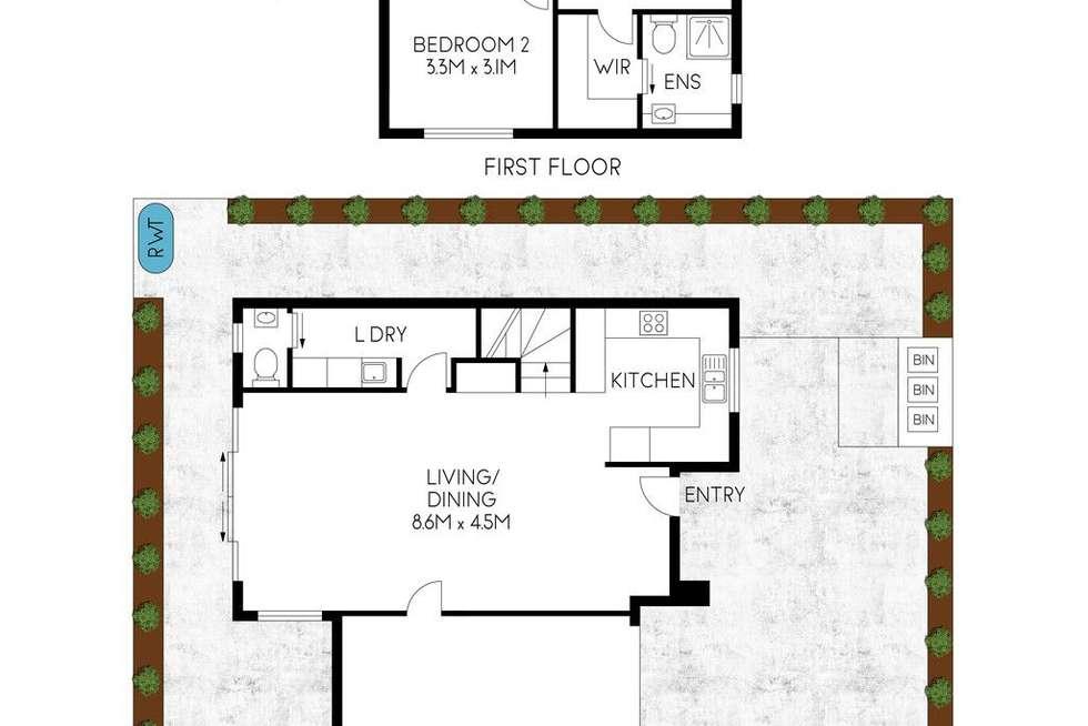 Floorplan of Homely house listing, 9/118 Hawker Street, Ridleyton SA 5008