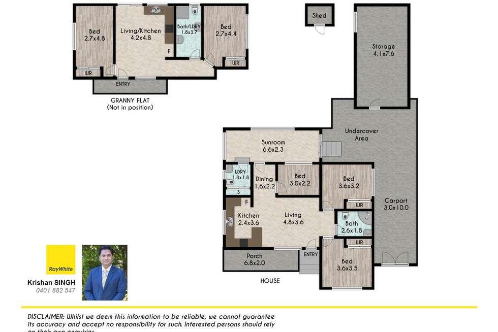 Floorplan of Homely house listing, 11 & 11b EDEN Street, Marayong NSW 2148