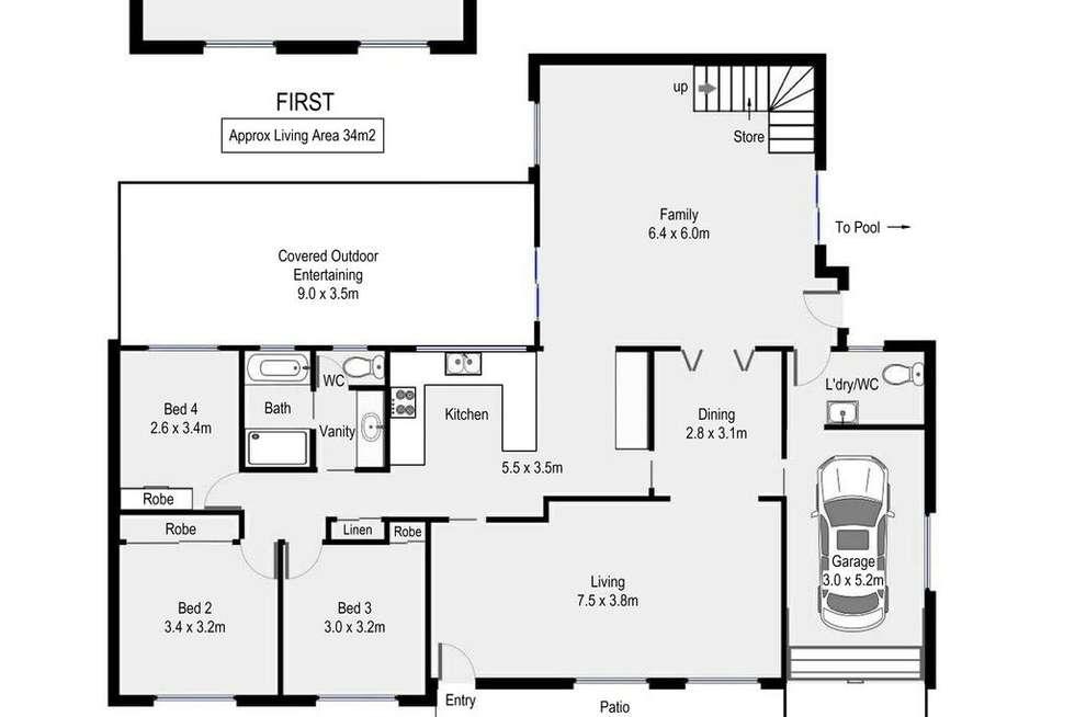 Floorplan of Homely house listing, 33 Barnes Crescent, Menai NSW 2234