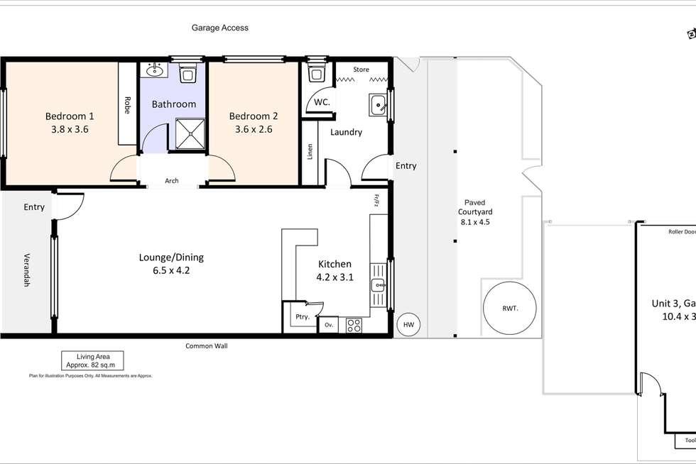 Floorplan of Homely house listing, 3/13 Scott Avenue, Barmera SA 5345