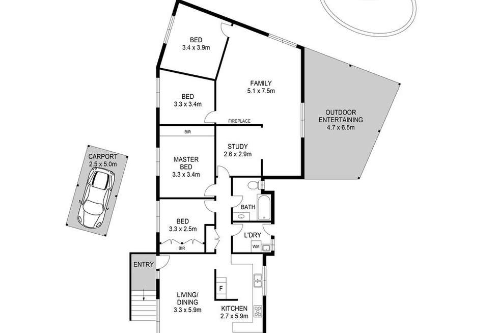 Floorplan of Homely house listing, 15 Arnott Road, Marayong NSW 2148