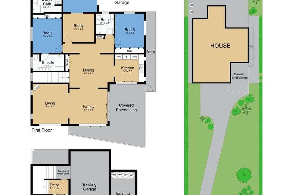 Floorplan of Homely house listing, 7 Koonora Avenue, Blackwall NSW 2256