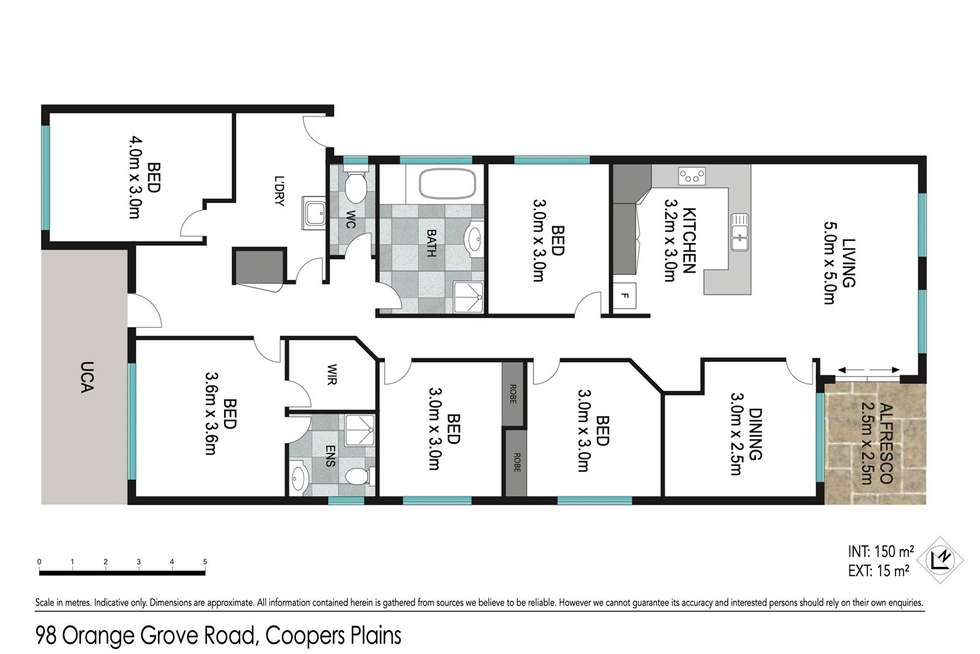 Floorplan of Homely house listing, 98 Orange Grove Road, Coopers Plains QLD 4108