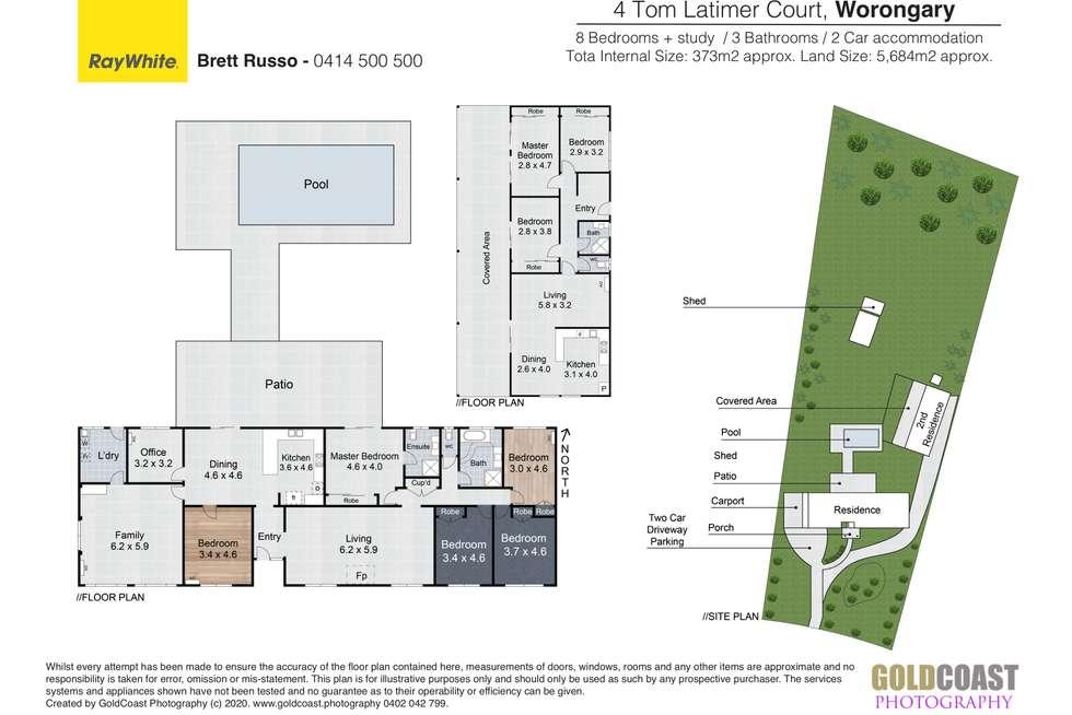 Floorplan of Homely house listing, 4 Tom Latimer Court, Worongary QLD 4213