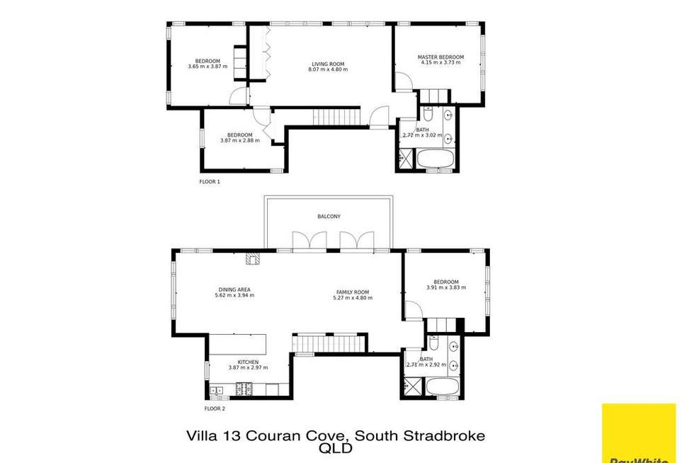 Floorplan of Homely house listing, Lot 15 Currigee Road, South Stradbroke QLD 4216