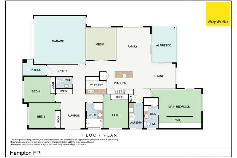Floorplan of Homely house listing, 10 Hampton Street, Burpengary East QLD 4505