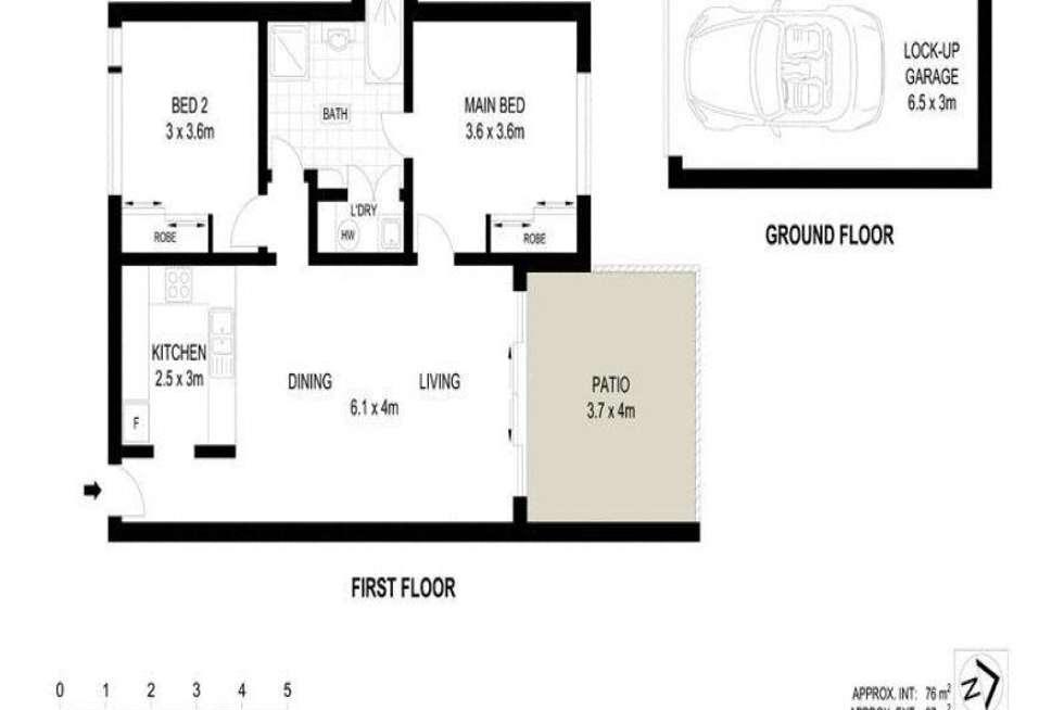 Floorplan of Homely unit listing, 18/16-22 Martinez Avenue, West End QLD 4810