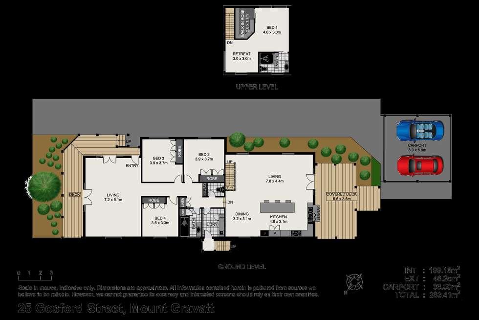 Floorplan of Homely house listing, 25 Gosford Street, Mount Gravatt QLD 4122