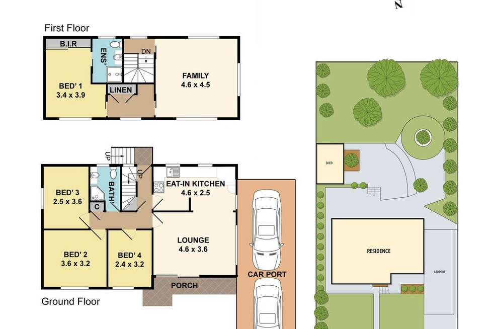 Floorplan of Homely house listing, 20 Michigan Avenue, Asquith NSW 2077