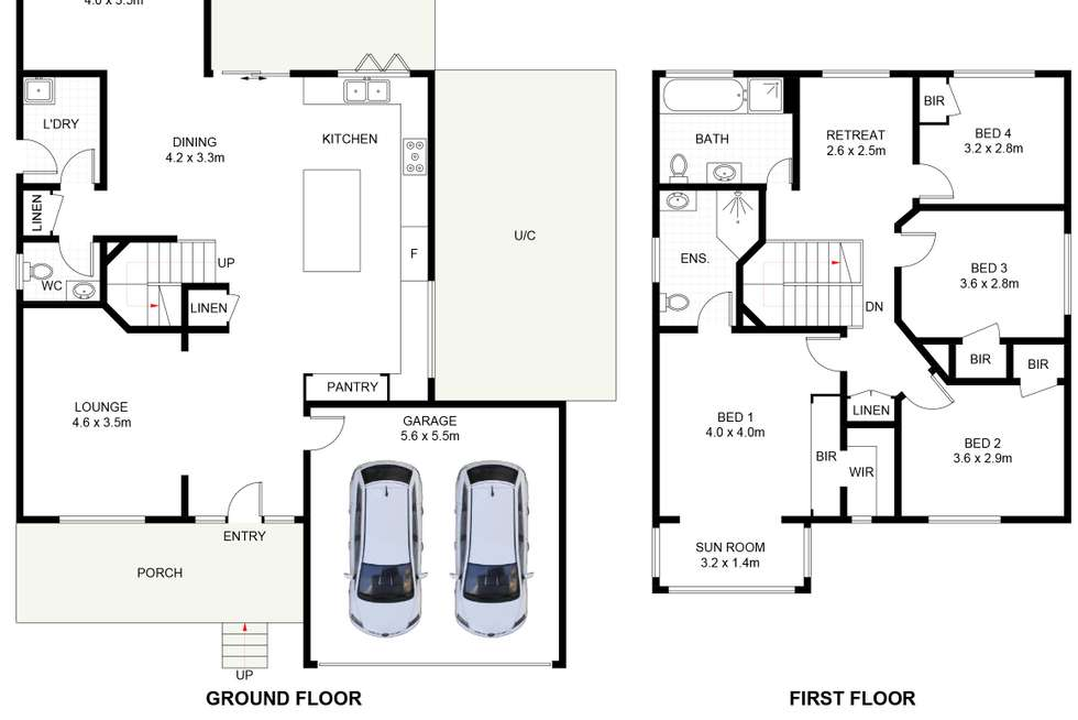 Floorplan of Homely house listing, 6 Gore Avenue, Shell Cove NSW 2529